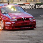 Alfa Romeo 155 GTA en démo... de drift !