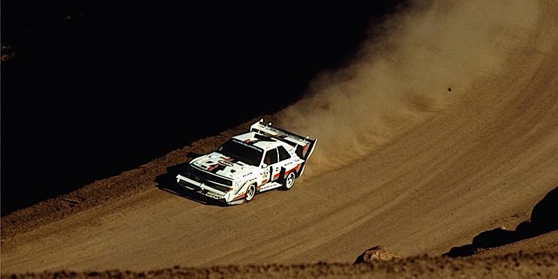 Incontournable : Walter Röhrl à Pikes Peak en 1987
