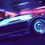 Retrowave : Balade futuriste en De Lorean