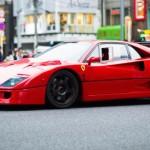Le réveil du monstre... Ferrari F40 inside !