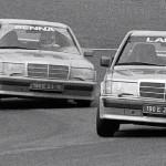 Mercedes 190 2.3 16s race – Un p'tit nouveau nommé Senna !