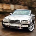 Mercedes Classe C en V12… Serial Drifteuse !
