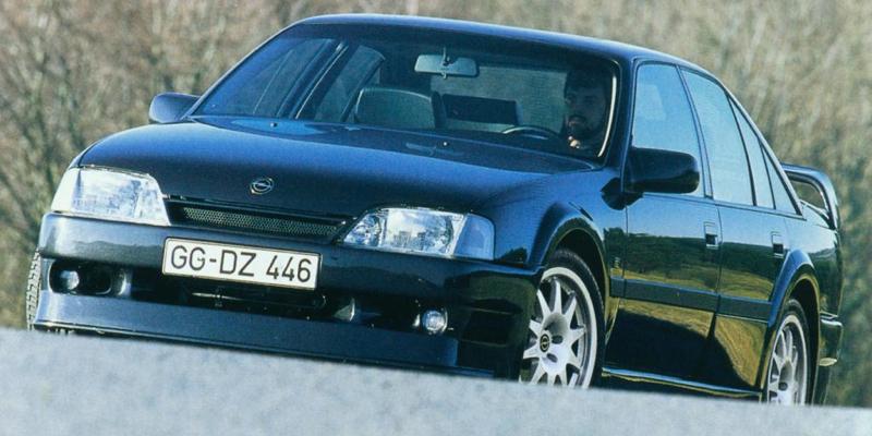 Opel Omega Evo 500 : Irmscher avant Lotus