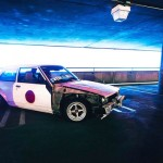 Toyota Corolla AE71... Bien particulière !
