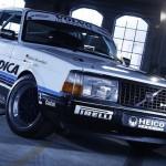 Volvo 240 Turbo GrA Heico - Une brique sur la piste...