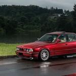 BMW M5 E34... Avec juste des BBS