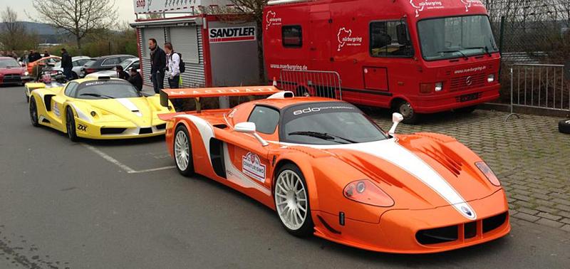 DLEDMV Edo MC12 XX Corsa vs Enzo FXX 07