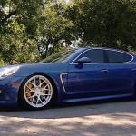 Porsche Panamera en air-ride réglable par smartphone !