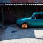 VW Golf Mk1 1976 - Stancevagbleat' - De la rouille à la route ! 1
