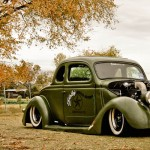 '36 Coupe Ford 5 Window - Street Daily !