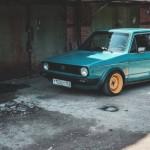 VW Golf Mk1 1976 – Stancevagbleat' – De la rouille à la route !
