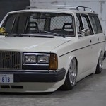Volvo 245 California - Slammed Brick !