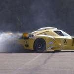 Burnout & donuts en Ferrari Enzo ZXX Edo Compétition