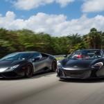 Lamborghini Huracan & McLaren 650S spider en Vossen ! 3