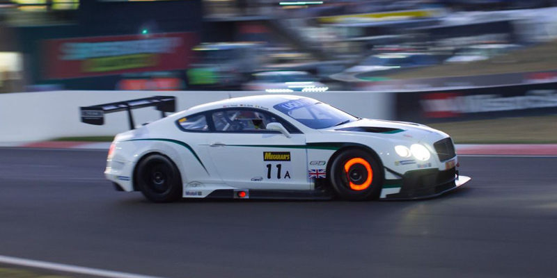 Engine Sound : Bentley Continental GT3… Un air de Nascar !