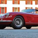 Mulholland Drive en Ferrari 275 GTB/4 de McQueen