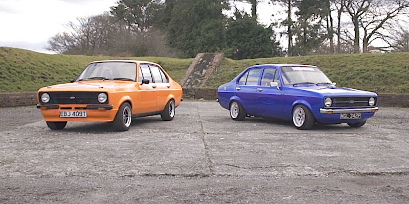 Double Ford… Double Escort…