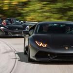 Lamborghini Huracan & McLaren 650S spider en Vossen !