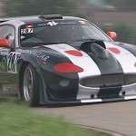 Hillclimb Monster : Jaguar XKR8 - God save the Queen... and destroy your ears !