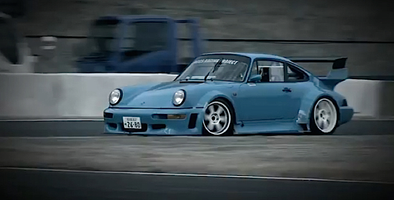 DLEDMV - Porsche 964 Drift KA-TUN 05