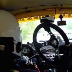 Le rallye sans volant, c'est quand même plus compliqué !