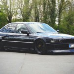 BMW 740i E38 - All Black Errythang