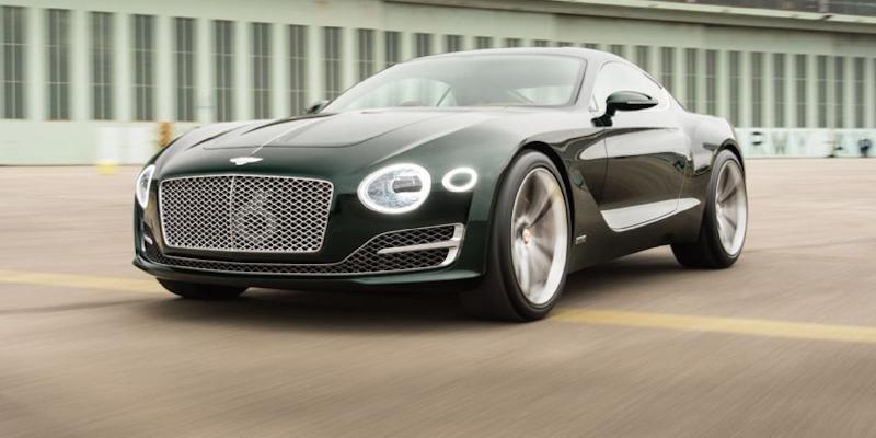 Engine Sound : Bentley EXP 10 Speed 6 – Hulk à The Voice !