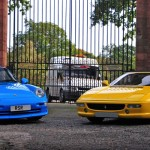 Porsche 993 Carrera RS vs Ferrari 355 Spider : 90's Battle