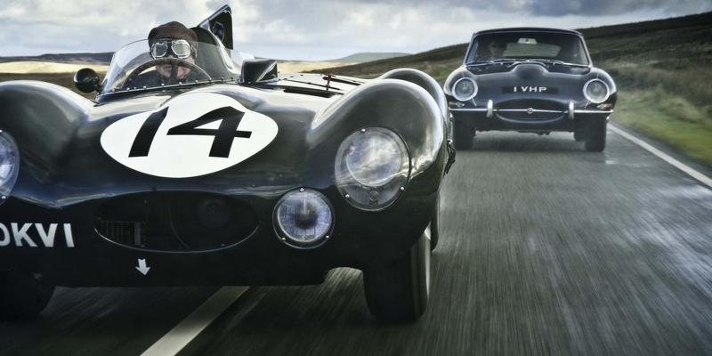 '55 Jaguar Type D & XKSS – De la piste à la route…