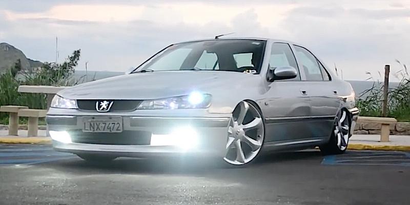 Dub 406 : La Peugeot chausse du 20'…