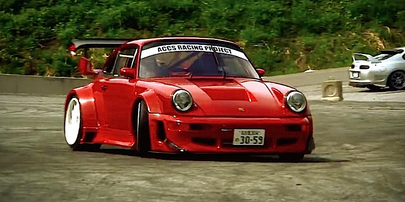 Porsche 964 C2 KA-TUN – Tueuse de pneus !