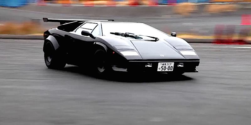 DLEDMV - Lamborghini Countach Biturbo drift - 03