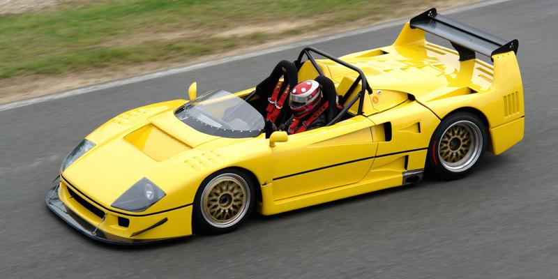 Ferrari F40 LM Barchetta – Qu'on lui coupe la tête !