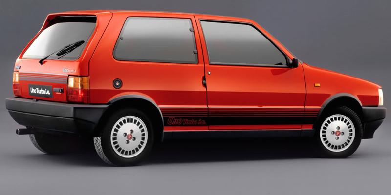 Fiat Uno Turbo i.e. en mode 200+