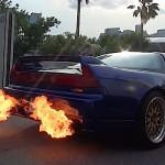 Honda NSX – Dragon's Fire…!