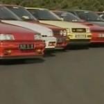 L'élection de la sportive Echappement 1990... La guerre des GTI !