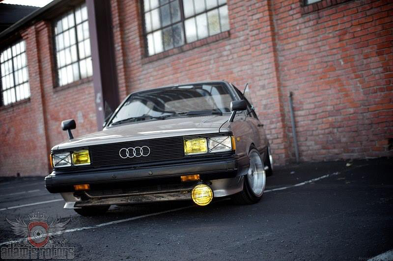 DLEDMV - Audi 80 Classic Stanced - 05