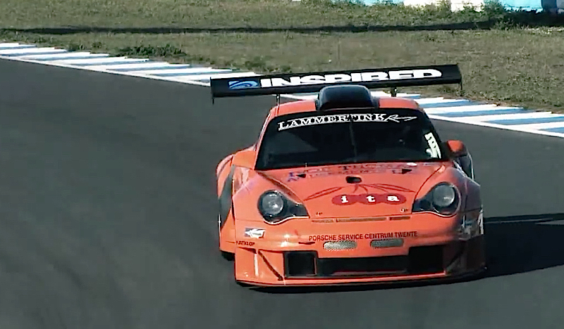 porsche 996 gt2 biturbo lammertink racing 700 ch sur jerez dledmv. Black Bedroom Furniture Sets. Home Design Ideas