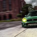 Subaru Impreza WRX - Green Bugeye !