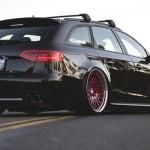 Audi A4 iAcrophobia –  Le triple A : AccuAir – Avant – Avant Garde