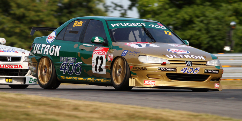 Patrick Watts à la Bathurst 1000 en 97… En Peugeot 406 !