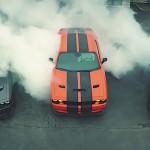 Torture de pneus par 3 Challenger SRT Hellcat !