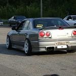 "Nissan Skyline R34 sedan : ""The Wide"" 2"