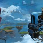 """""""Universe Scrap"""" - Flying classic cars post-apocalytique totalement envoutant ! 10"""