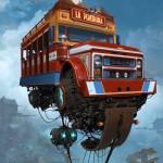"""""""Universe Scrap"""" - Flying classic cars post-apocalytique totalement envoutant ! 7"""