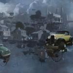 """""""Universe Scrap"""" - Flying classic cars post-apocalytique totalement envoutant ! 6"""