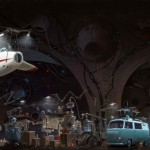 """""""Universe Scrap"""" - Flying classic cars post-apocalytique totalement envoutant ! 5"""