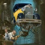 """""""Universe Scrap"""" - Flying classic cars post-apocalytique totalement envoutant ! 2"""