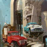 """Universe Scrap"" - Flying classic cars post-apocalytique totalement envoutant ! 1"