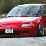 Stanced Civic EG4 – Le static c'est fantastique !